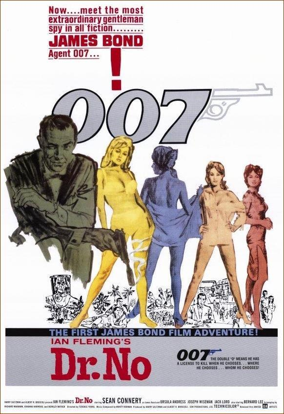 AGENTE 007 CONTRA EL DOCTOR NO (1962) [BLURAY 720P X264 MKV][AC3 5.1 CASTELLANO] torrent